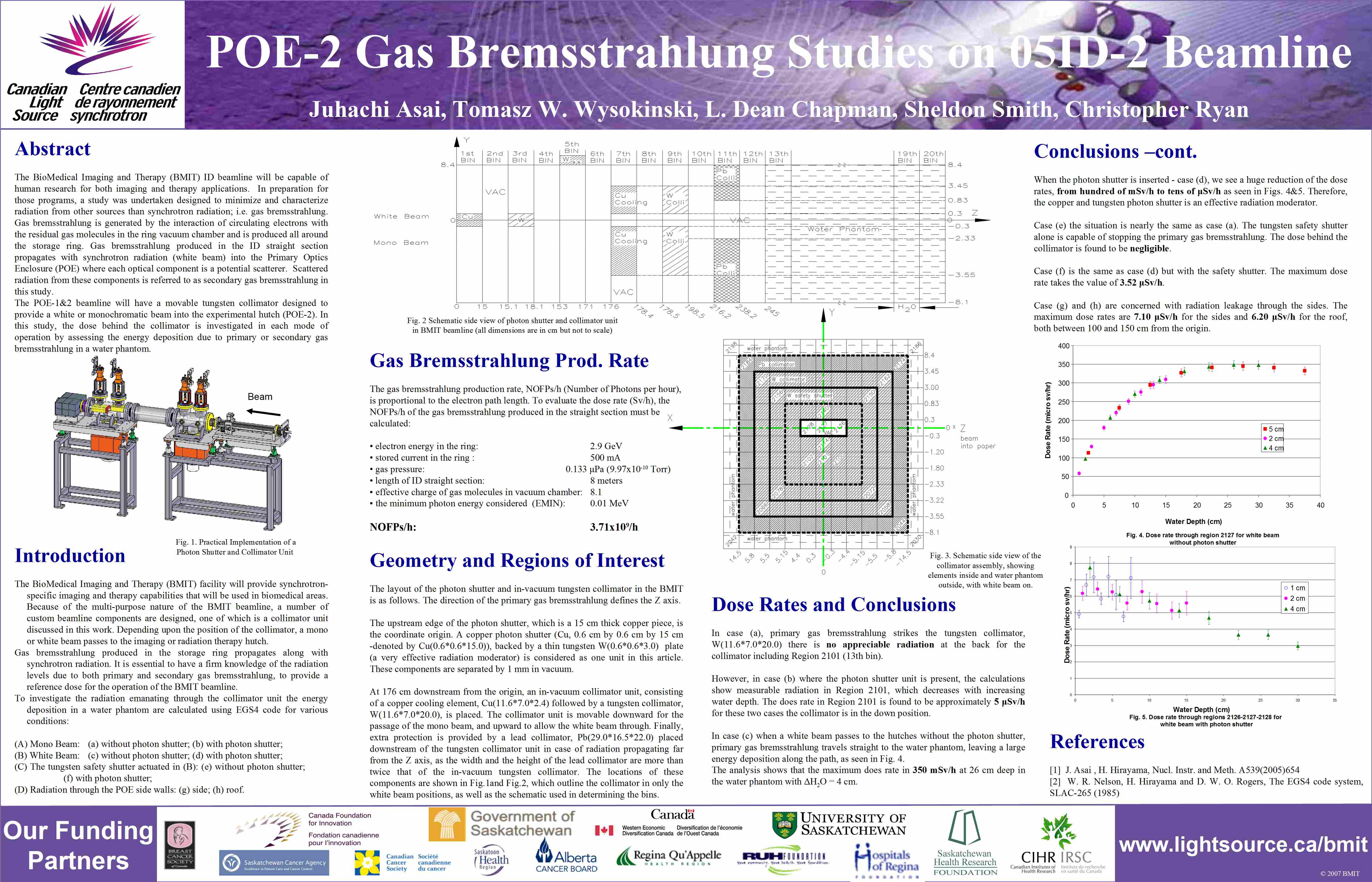 POE-2 Gas Bremsstrahlung Studies on 05ID-2 Beamline Image