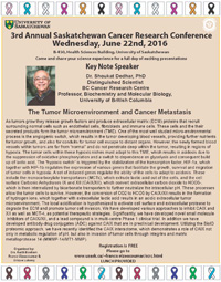 3rd Annual Saskatchewan Cancer Research Conference (SCRC) 2016 Image